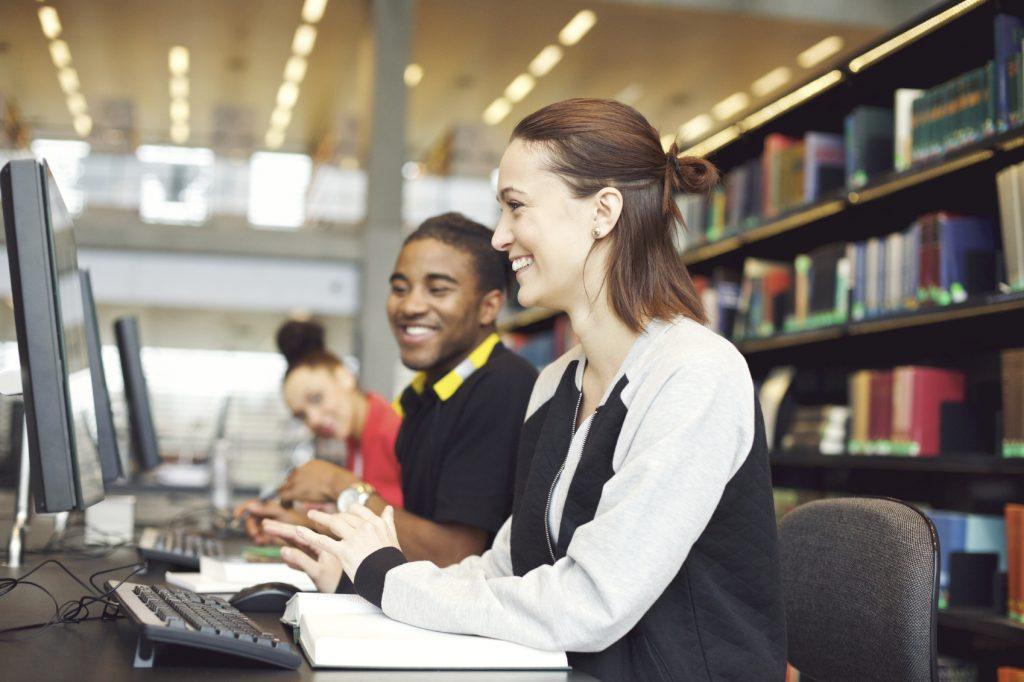 Students Using Computers iStock_000037354468_Medium
