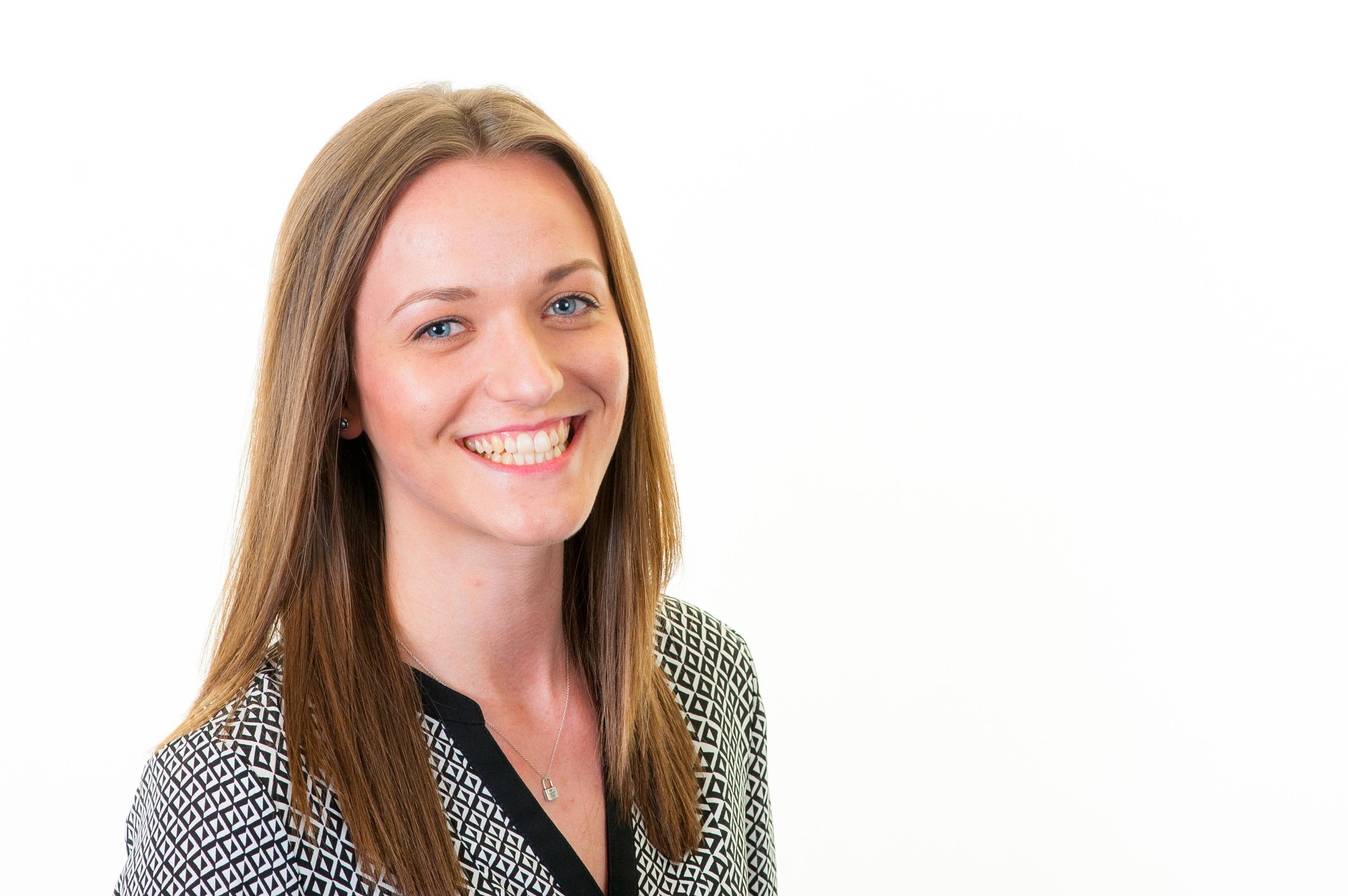 Our smiley new Client Account Manager, Sara Glaister