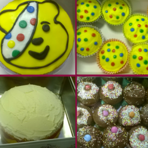 Children in Need Cakes